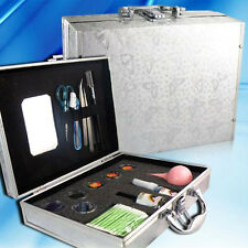 Pro False Eye Lash Eyelash Extension Kit Set With Case