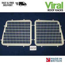 Citroen Berlingo, Peugeot Partner Rear Window Guard Security Grilles Steel 96-08