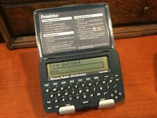 Vintage Franklin Electronic Dictionary MWD-400 Merriam-Webster