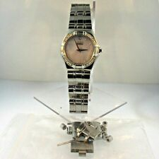Citizen Eco Drive E030 Diamond Stainless Steel with White Dial Womens Watch