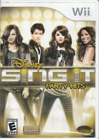 Disney Sing It: Party Hits (Nintendo Wii, 2010) Game Case Only - No Game