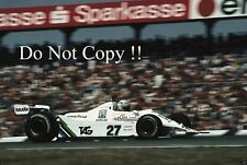 Alan Jones Williams FW07 German Grand Prix 1979 Photograph 2
