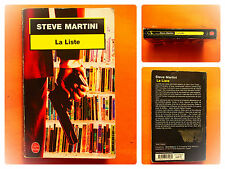La Liste. Steve Martini  -Policier Le Livre de Poche N° 17258