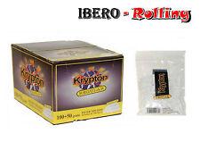 Filtros KRYPTON REGULAR 8 mm. Caja de 18 bolsas. 150 filtros por bolsa. Liar