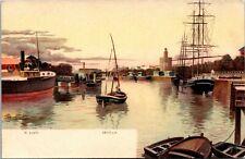 El Porto Sevilla Sailboat Postcard