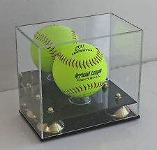 Softball Display Case Stand, UV Protection, MH09