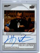 2019 Upper Deck James Bond Bond Autograph Card A-JW Jeffrey Wright/Felix Leiter