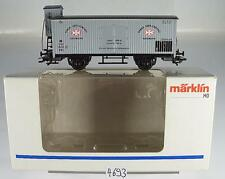 Märklin H0 gedeckter Güterwagen Dansk Gær Central DSB 2~ KKK & NEM OVP#4693