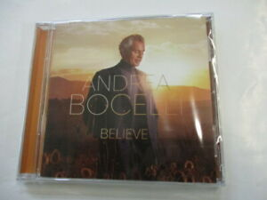 ANDREA BOCELLI - BELIEVE - CD SIGILLATO 2020 JEWELCASE