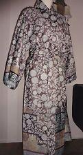 Bassetti Kimono Lacca V.5 Morgenmantel  Baumwollsatin 100% Baumwolle S/M