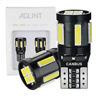 AGLINT T10 W5W LED Bulbs CANBUS Error Free 10SMD 194 168 2825 Wedge for Car Dome
