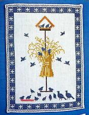 Stickvorlage von Fremme, Kreuzstich, Vogelhäuschen, Wandbild