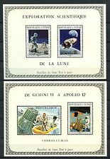 Chad 1970 Apollo Programme MNH Deluxe M/S Set Imperf #A59750