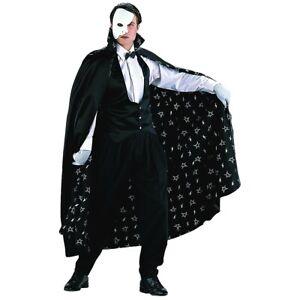 Phantom of the Opera Costume Adult Halloween Fancy Dress
