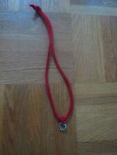 ♥♥ Kette Halskette Armband ♥ Filzschmuck Merinowolle Rot Handarbeit Herz