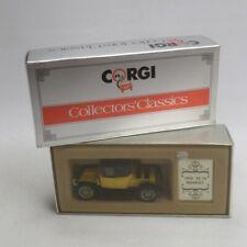 Corgi C862 1910 12/16 Renault Diecast Boxed inc UK P+P Collector's Classics
