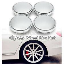 4x No Logo 2.56'' 65mm Car Wheel Center Rim Hub Caps Cover Universal No