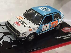 1/43 VW GOLF GTi RALLY MONTE CARLO 1987 KENNETH ERIKSSON