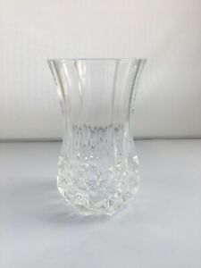Crystal Glass Vase Vintage Lead Crystal Excellent Condition