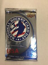 2012 National Hockey Card Day USA Unopened Pack UPPER DECK