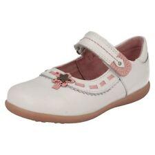 Chaussures blanches en cuir pour fille de 2 à 16 ans, pointure 28