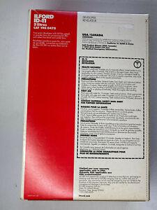 Ilford ID-11 Fine Grain Developer for B&W Film - Powder, Makes 5 Liters