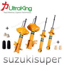 Front Struts + Rear Nissan Pulsar N16 Q ST 7/01-12/05  GT Gas Shock Absorbers