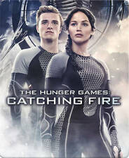 The Hunger Games: Catching Fire (Blu-ray/DVD,2014) STEELBOOK / STEELCASE