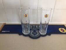 2 Official Brand New Fosters Lager  Pint Glasses