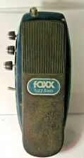 Vintage Foxx Fuzz Wa Effects Pedal Octave Fuzz Wah Rare and Original Free US S&H