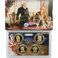 2008 S Presidential Dollar $1 Proof 4 Coin Set United States Mint