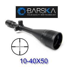 Barska Varmint Rifle Scope 10-40x50 AO Hunting Gun Sight Sniper Optics AC11084