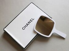 CHANEL Beauty Makeup Mirror Large Size Limited Edition Glossy White With BOX P/F