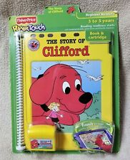 FISHER-PRICE POWER TOUCH Learning System STORY OF CLIFFORD Book & Cartridge NEW
