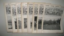 Forest & Stream Magazine 1906 Lot of 15