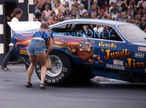 """Jungle Pam"" & ""Jungle Jim"" Liberman 1973 Vega NITRO Funny Car Racing PHOTO! #1a"