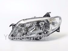 Clear Headlights Mazda 323 F, Familia 2002 - 2004 Front Left Side Driver side