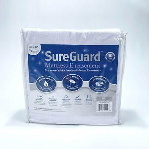 SureGuard FULL Mattress Protector Encasement Waterproof Bed Bug Hypoallergenic