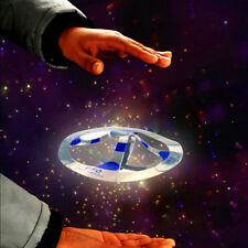 Mystery Magic UFO Floating Flying Disk Saucer Hover Kid Intelligence Trick Toy