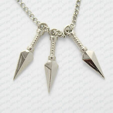 collana naruto kunai ninja shinobi kakashi cosplay sakura new necklace halskette
