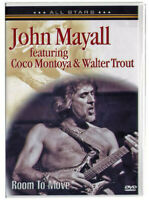 DVD John Mayall Featuring Coco Montoya & Walter Trout ‎– Room To Move Sealed