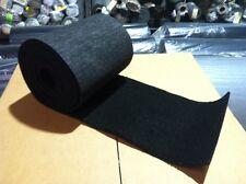 "Bunk / Carpet PWC / BOAT Trailer - BLACK 12"" x 100' - Marine/Outdoor - Free Glue"