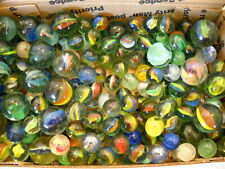 4 Pound Lot of Cat's Eye Marbles ~Glass Toy Marbles ~ Estate Find!
