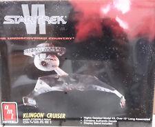 Vintage STAR TREK VI Klingon Cruiser Model Kit- AMT ERTL- FREE S&H (STMO-6682)