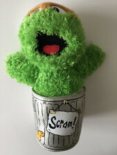 "Sesame Street Oscar the Grouch 11"" Soft Plush Toy Official"