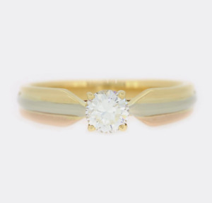 Cartier Trinity de Cartier 0.30 Carat Diamond Engagement Ring 18ct Gold