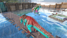 Ark Survival Evolved RED/Cyan Cloned Giga 455 BASE m CLONE PVE-Xbox ONE Official