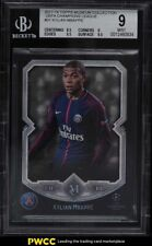2017 Topps Museum Collection UEFA Champions Kylian Mbappe ROOKIE RC #31 BGS 9 MT