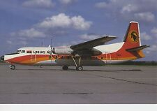 Postcard 1391 - Aircraft/Aviation Fokker F-27 Mk 600 TAAG Angola Airlines