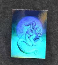 JEFFREY JONES The Beast RARE Hologram 1992 Set Chase Card